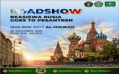 WEBINAR ROAD SHOW BEASISWA RUSIA GOES to PESANTREN